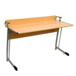 стол лабораторный полуовал