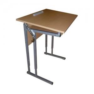 стол ученический 1-о местный регулируемый наклон