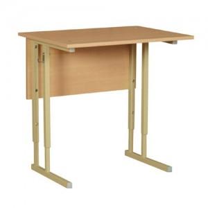 стол ученический 1-о местный регулируемый