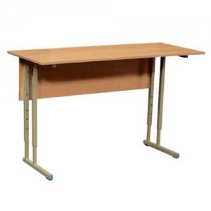 стол ученический 2-х местный регулируемый