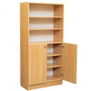 шкаф с полками верх открытый