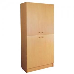 шкаф с полками закрытый