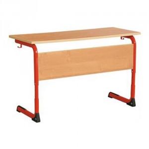 стол уч 2-местн на плоскоовал